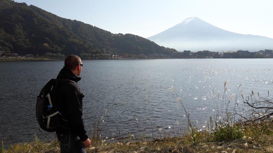 Voyage solo, Moint Fuji, Japon