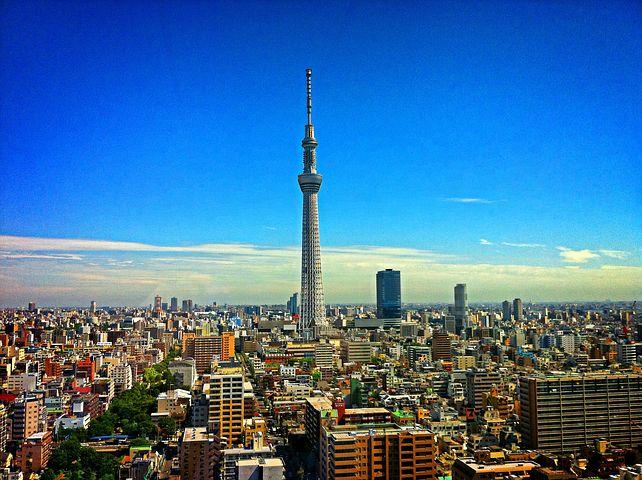 Tokyo sky tree Japon