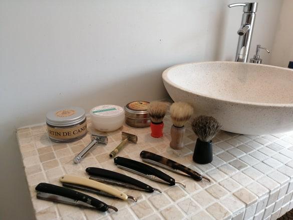 Rasage traditionnel Rasage à l'ancienne