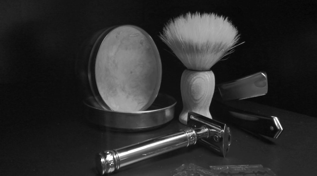 traditionnal shaving