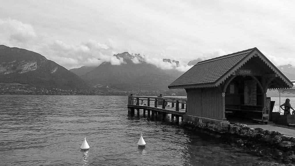 Annecy Lac Noir et Blanc  David RAUTUREAU