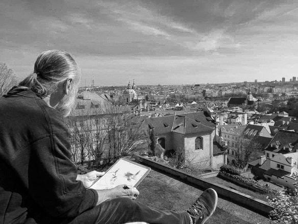 Prague Praha Artiste  David RAUTUREAU
