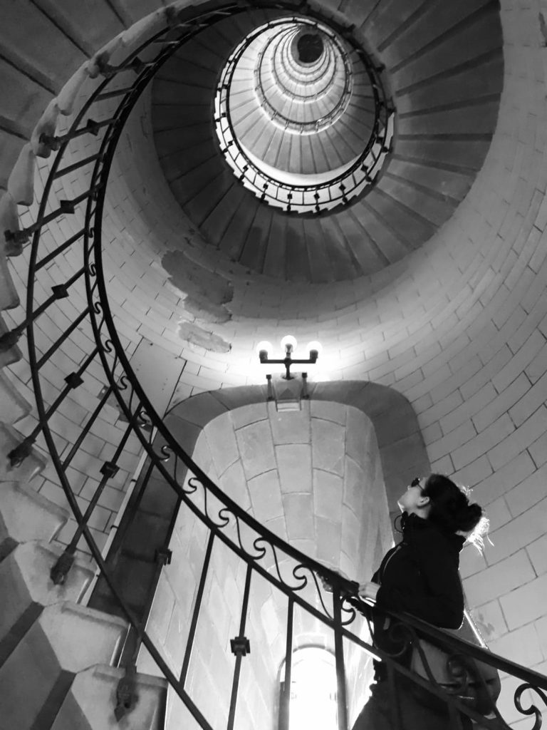 Perspective Phare Eckmuhl Women Noir et blanc David RAUTUREAU