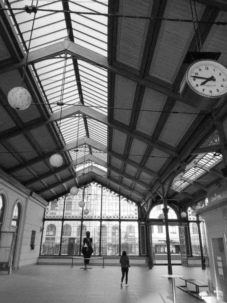 Prague Praha Train station Gare  David RAUTUREAU