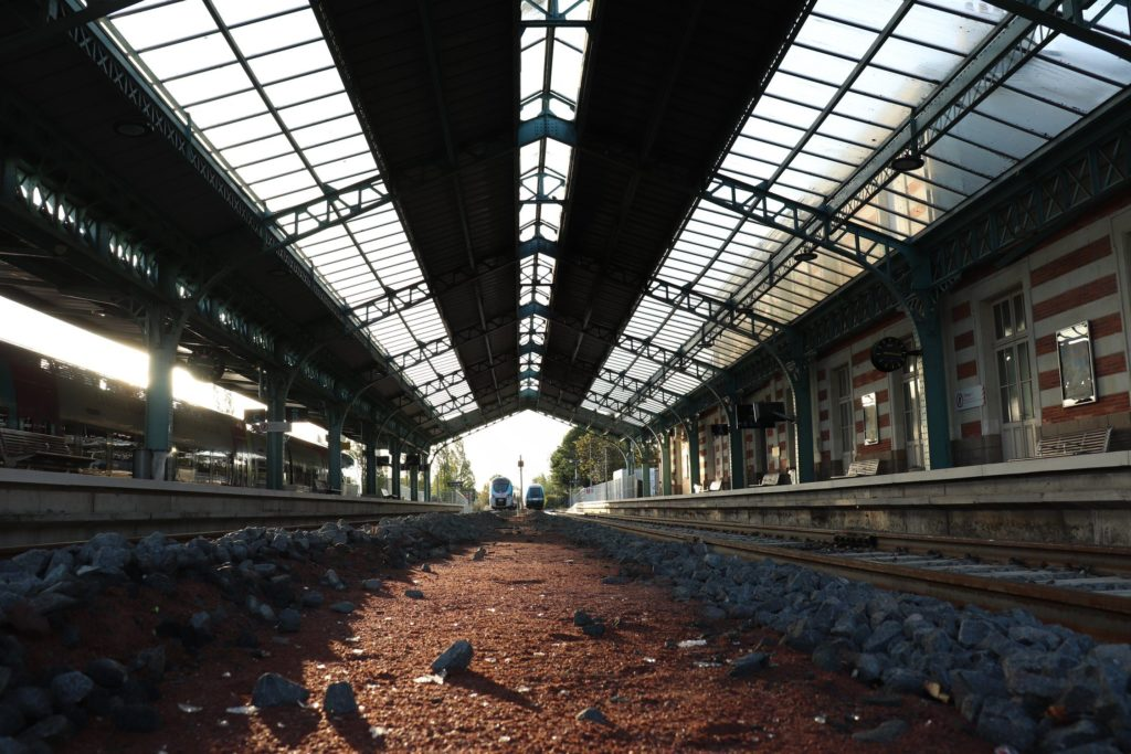 David RAUTUREAU Gare Cholet évasion voyage