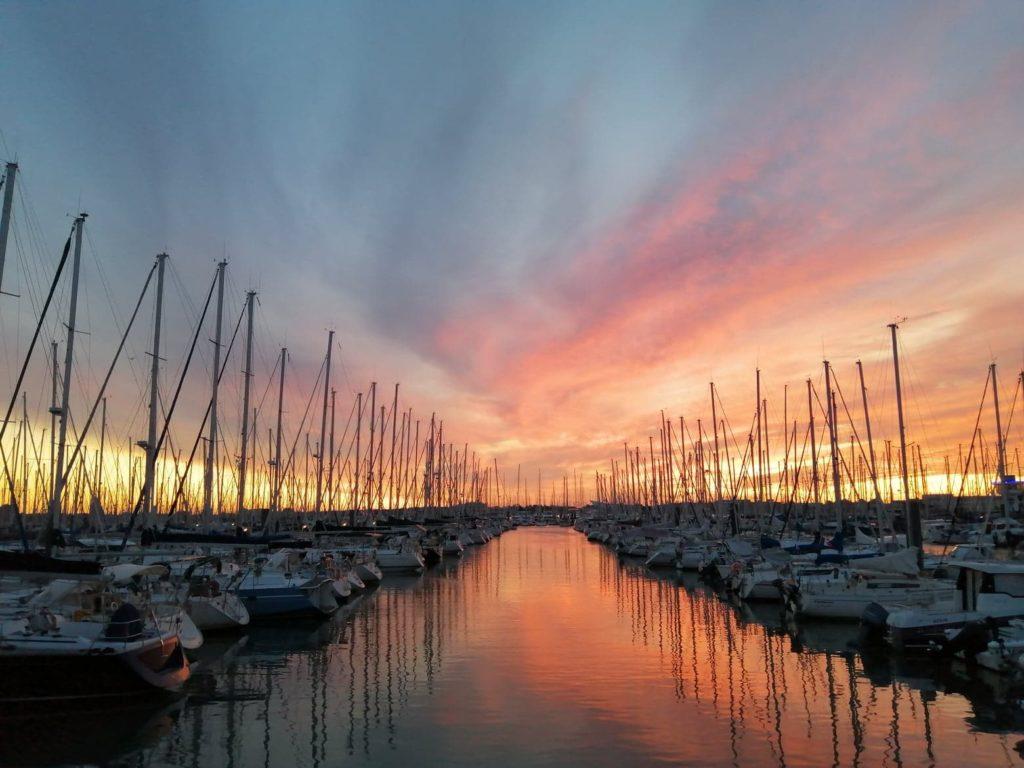 Lever de soleil Sunrise La Rochelle   David RAUTUREAU