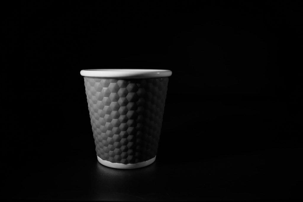 David RAUTUREAU  Tasse  Café Noir et blanc