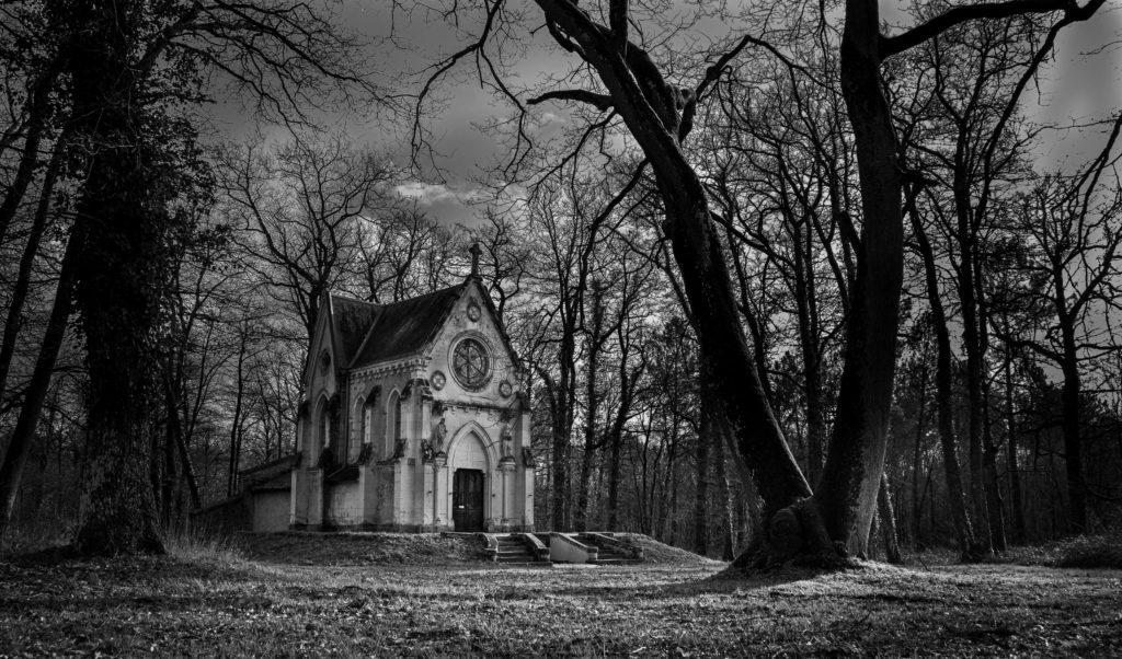 David RAUTUREAU Forêt Chapelle Cimetière des martyrs Cholet