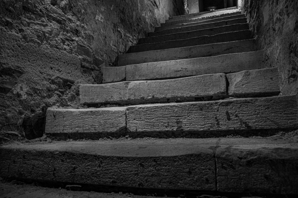 marches  escaliers  David Rautureau Brissac  Château