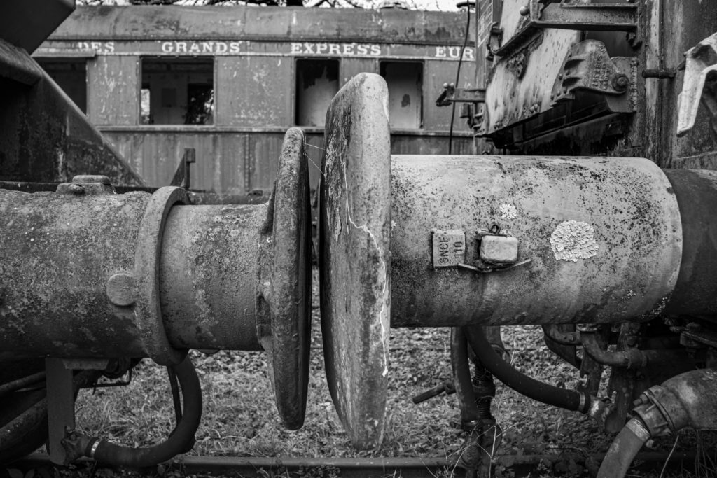 Trains Anciens Heurtoirs David RAUTUREAU Voyage autrefois