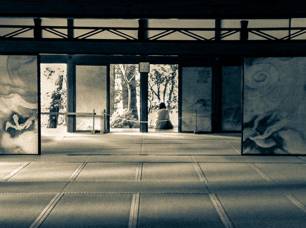 Japon Ryoan-ji Kyoto Zen  David RAUTUREAU