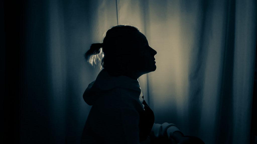 photo portrait lumière ombres dark